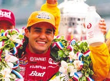 Montoya at his first win, in 2000