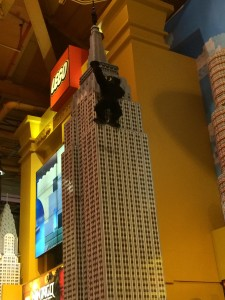 In the Lego Store